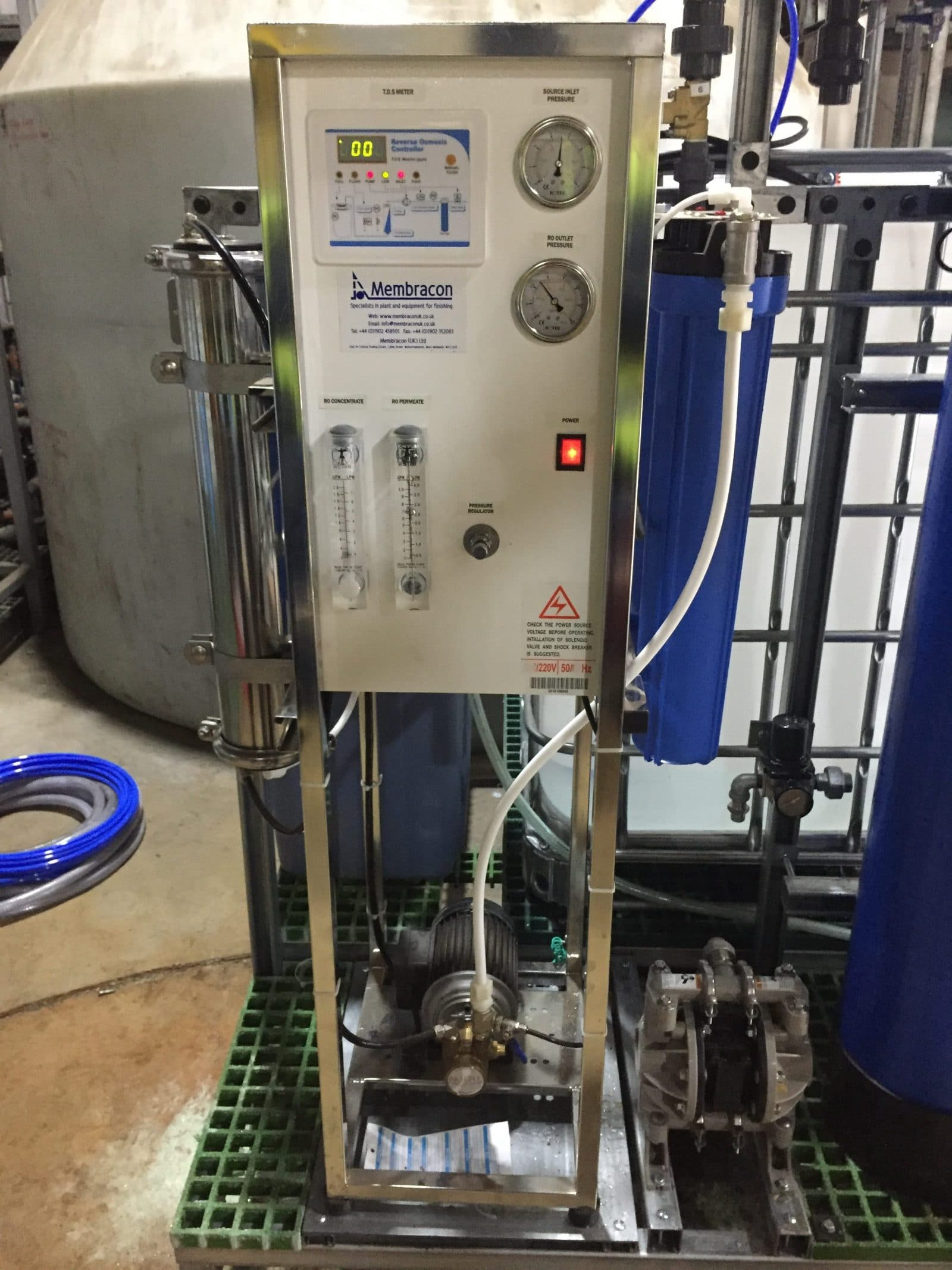 150 Ltr Hr Reverse Osmosis Unit-5