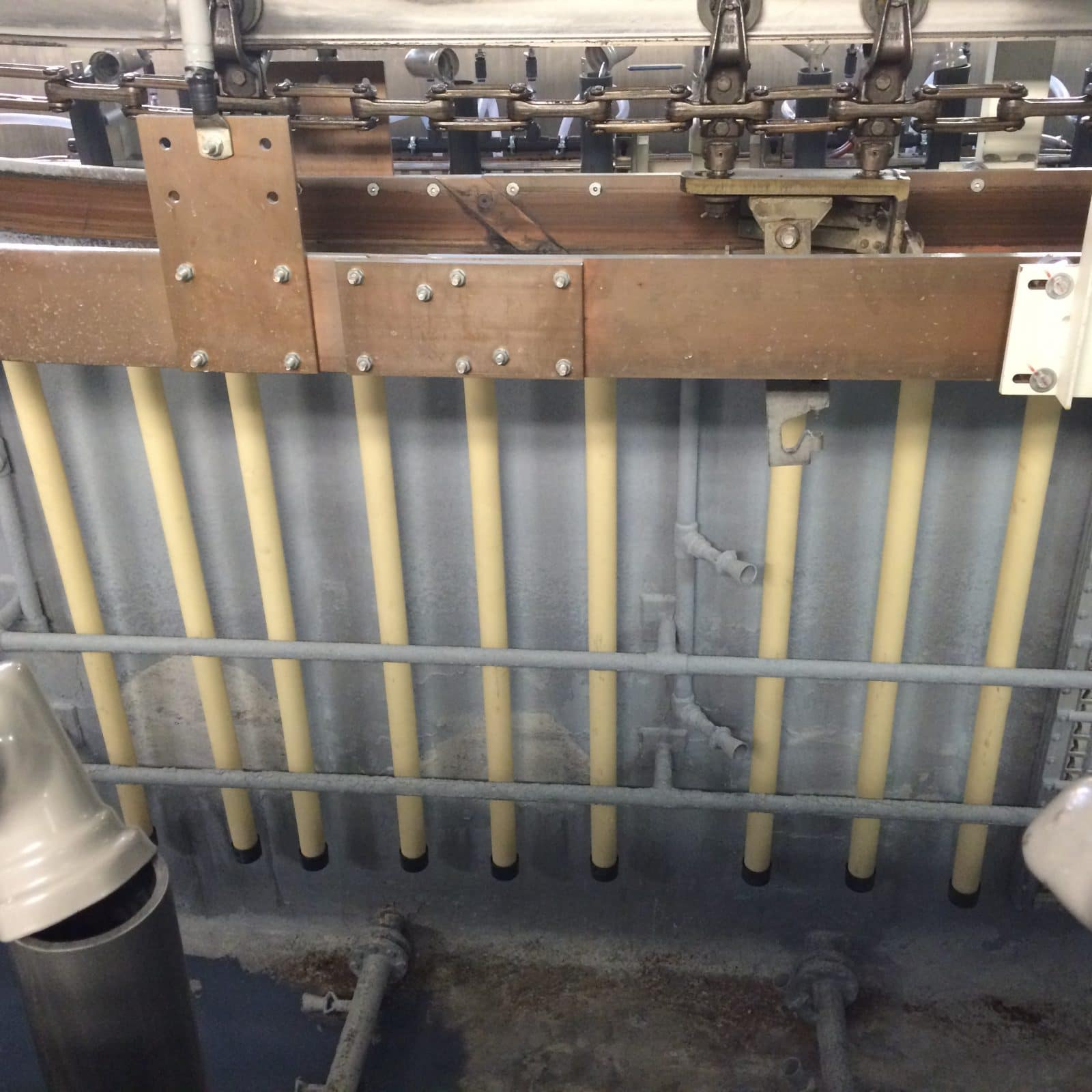 Anode Tubes Replaced Flat Cell