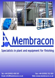 Water filtration for finishing processes industrial wastewater treatment recycling