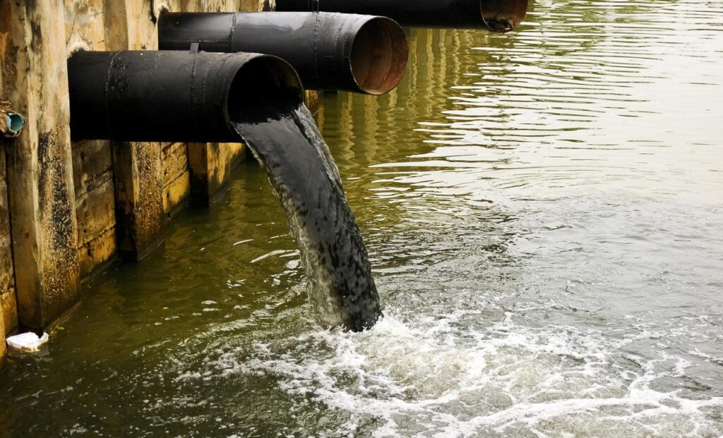 water pollution wastewater