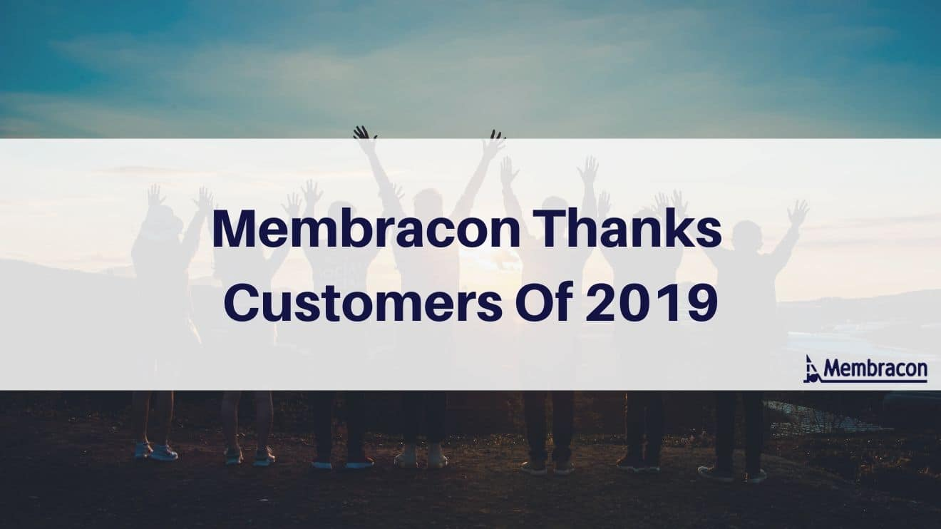 Membracon Thanks Customers Of 2019