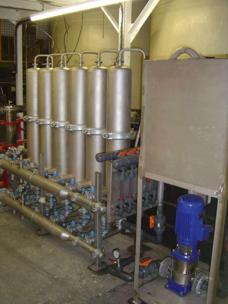 Ultrafiltration in Electrocoating