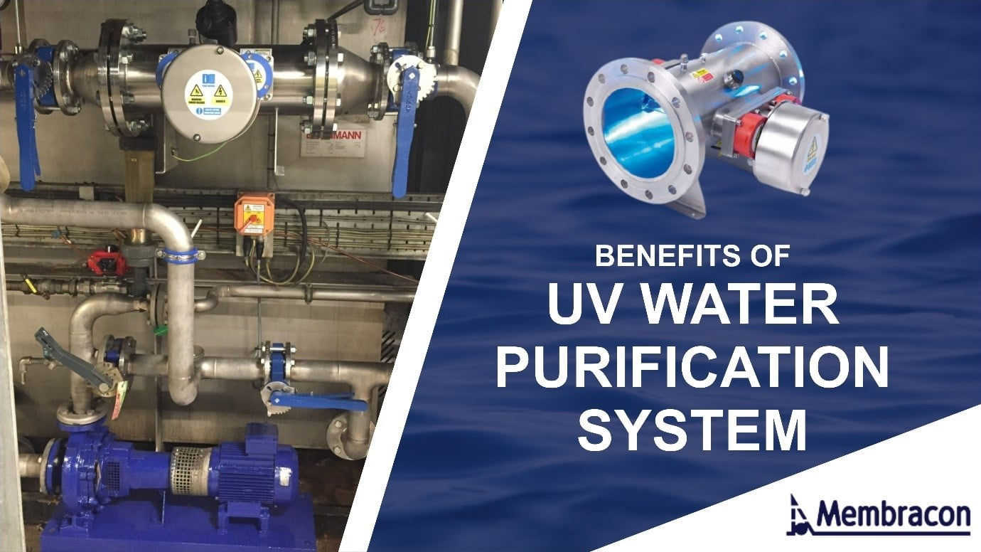 Benefits of a UV water purification system