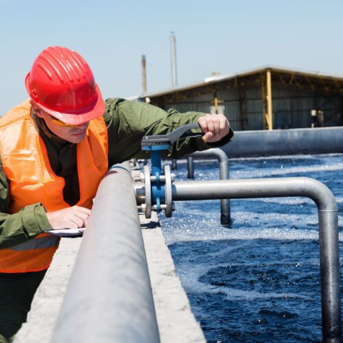 water treatment in utility sector